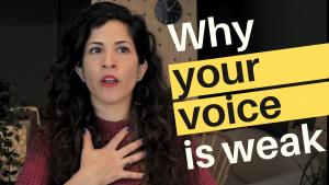 Improve your speaking voice