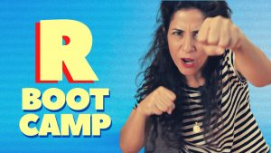 R Boot Camp: Daily Drill to use the R in English FREELY and EFFORTLESSLY