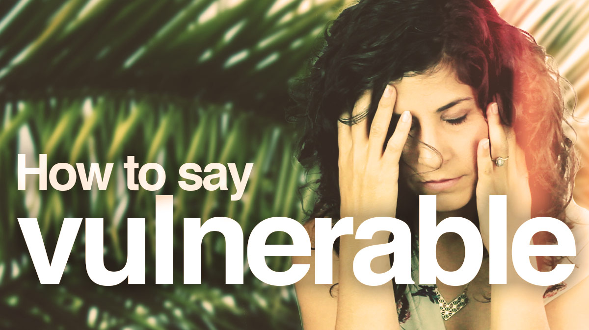 """How to say """"Vulnerable"""" - Hadar Shemesh  The Accents Way"""
