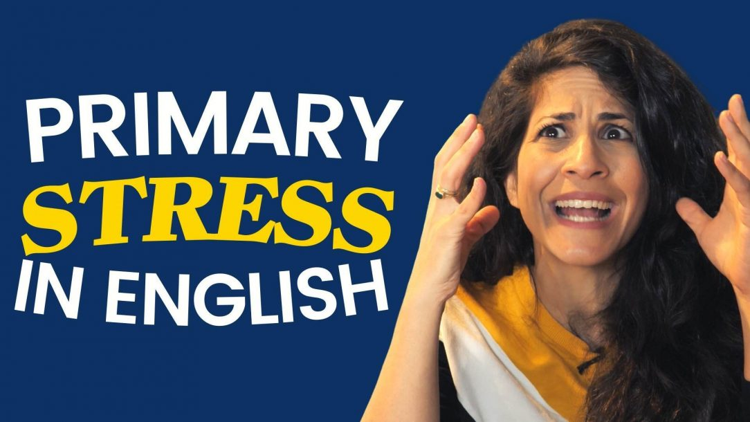 the primary stress in English